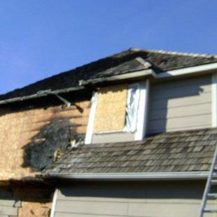 Robbins House Fire